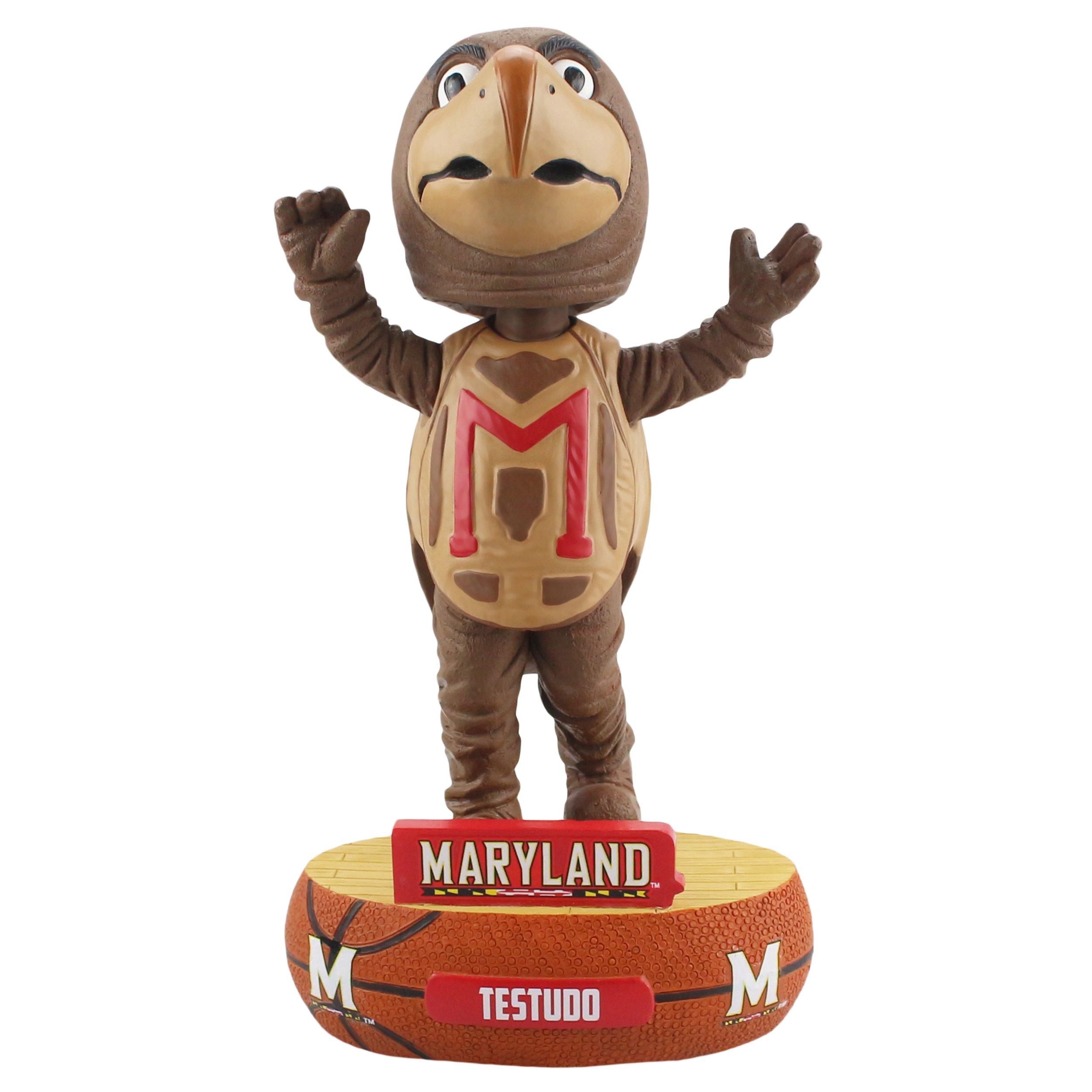 Maryland Terrapins Mascot Testudo Baller Special Edition Bobblehead NCAA