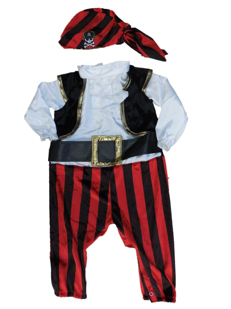 Boo Infant Boys & Girls Captain Stinker Pirate Costume by