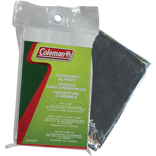 Click here to buy Coleman Emergency Blanket by COLEMAN.