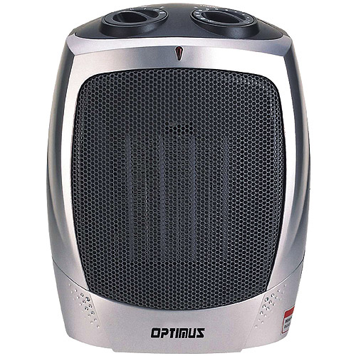 Optimus Electric Portable Ceramic Heater with Thermostat, H-7004 by Ceramic Heaters