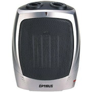 Optimus Electric Portable Ceramic Heater with Thermostat,  H-7004