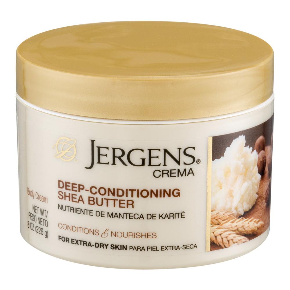 Jergens�� Crema Deep-Conditioning Shea Butter Body Cream 8 oz. Jar