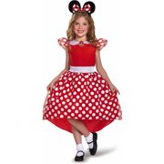 Red Minnie Mouse Basic Plus Child Halloween Costume