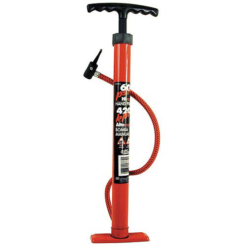 "Custom Accessories 57772 18"" Heavy Duty Tire Pump Assorted Colors"