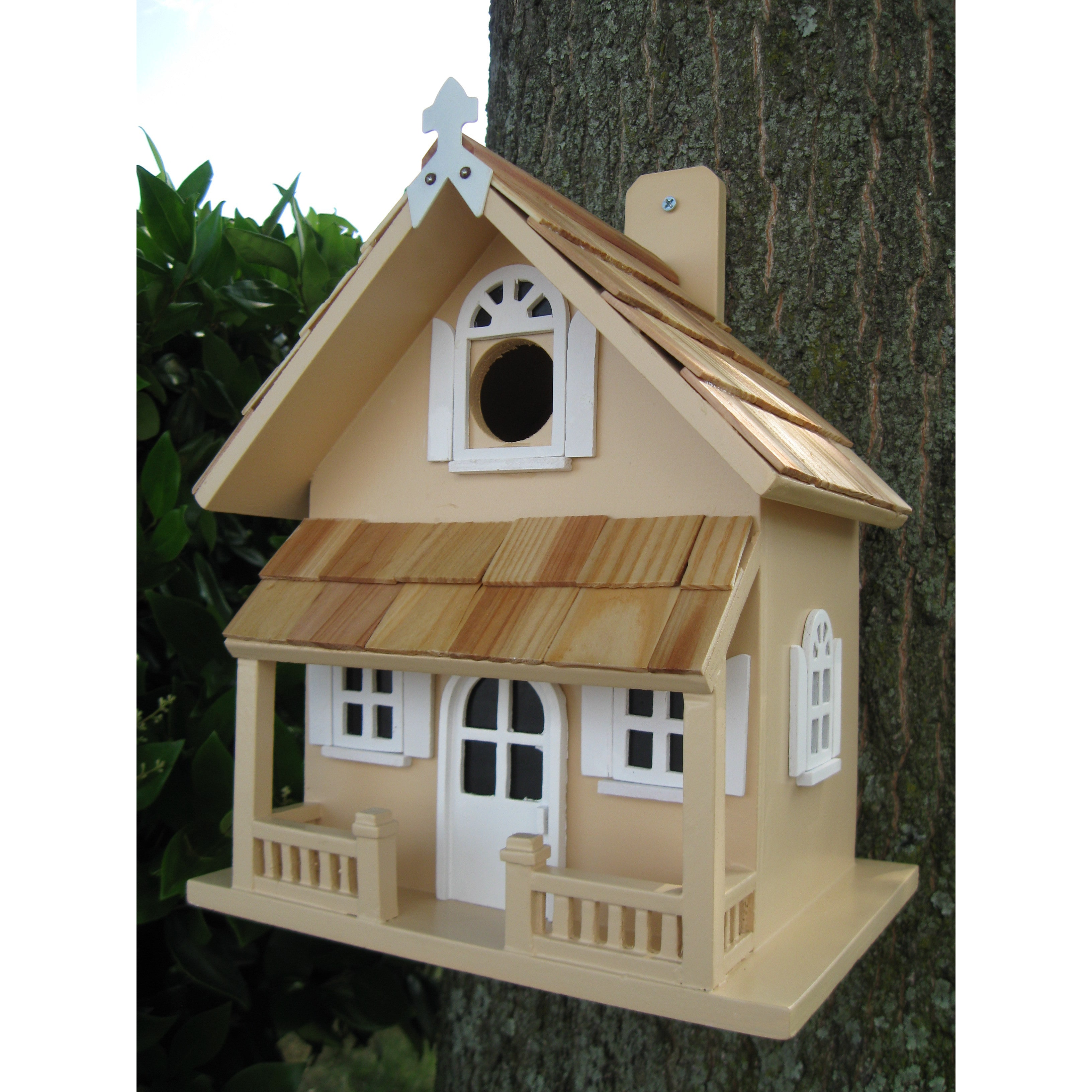 Home Bazaar Victorian Cottage Birdhouse by Overstock