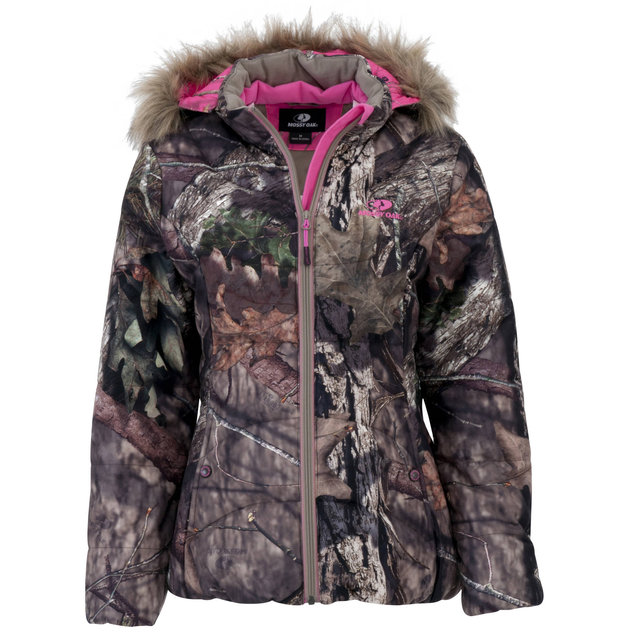 Womens Jacket Bubble, Mossy Oak Breakup Country
