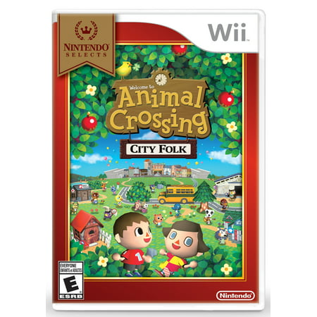 Animal Crossing City Folk - Nintendo Selects (Animal Crossing City Folk Friend Codes 2014)