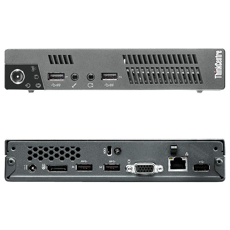 Refurbished Lenovo ThinkCentre M72 2.8GHz DC i3 4GB 500GB Win 10 Pro 64 Tiny Computer B