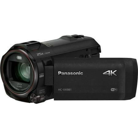 Panasonic HC-VX981K 4K Ultra HD Camcorder