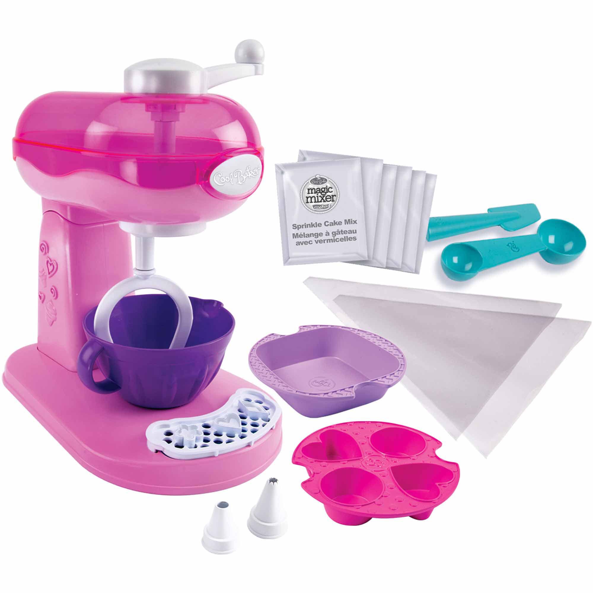 Cool Baker Magic Mixer Maker, Pink - Walmart.com