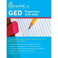GED Preparation 2019-2020 All Subjects Study Guide: GED Test Prep Book and Practice Questions for the GED Exam (Paperback)