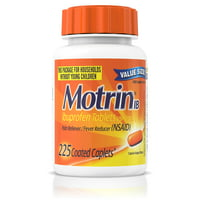 Motrin IB, Ibuprofen 200mg Tablets for Pain & Fever Relief, 225 ct.