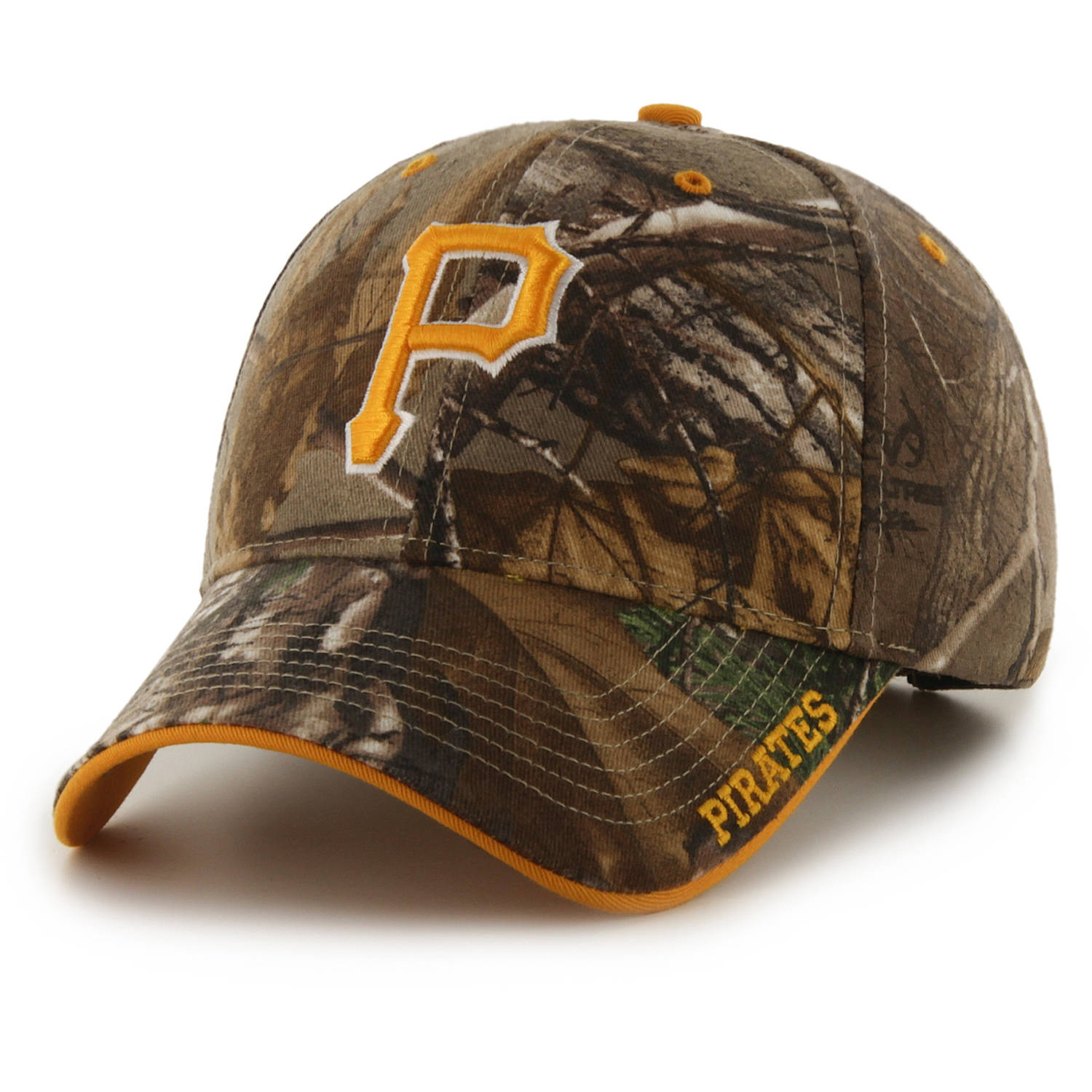 MLB Pittsburgh Pirates Realtree Frost Cap / Hat by Fan Favorite