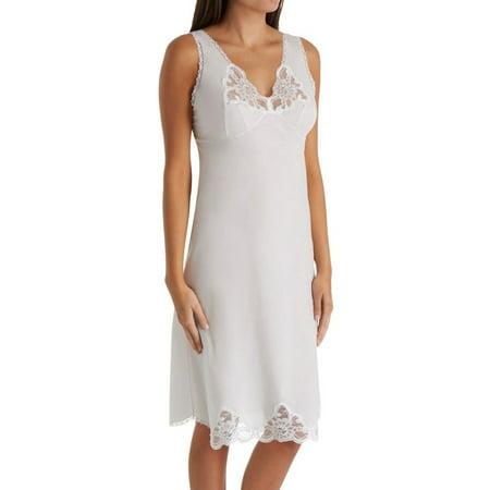 - Women's Shadowline 4534 Cotton Batiste Full Slip