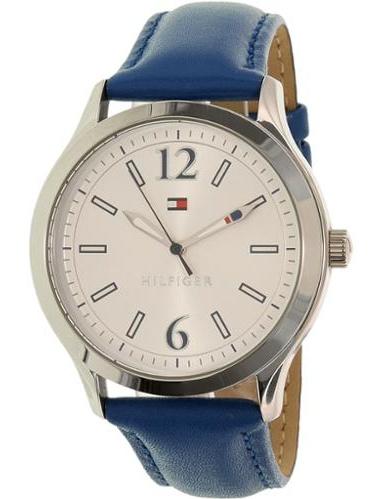 Women's 1781557 Blue Leather Quartz Watch