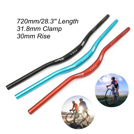 720mm x 31.8mm Aluminium Alloy Handlebar Mountain MTB Bike Hybrid or Trekking Bike Bicycle Riser Bar