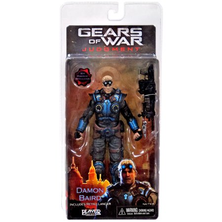 NECA Gears of War Judgment Series 1 Damon Baird Action - Gears Of War Figure
