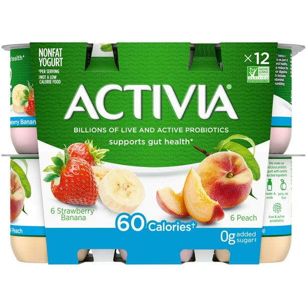 Activia Nonfat Probiotic Strawberry