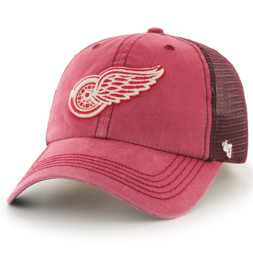 Detroit Red Wings '47 Brand Trailway Closer Flex Hat - Red - L/XL