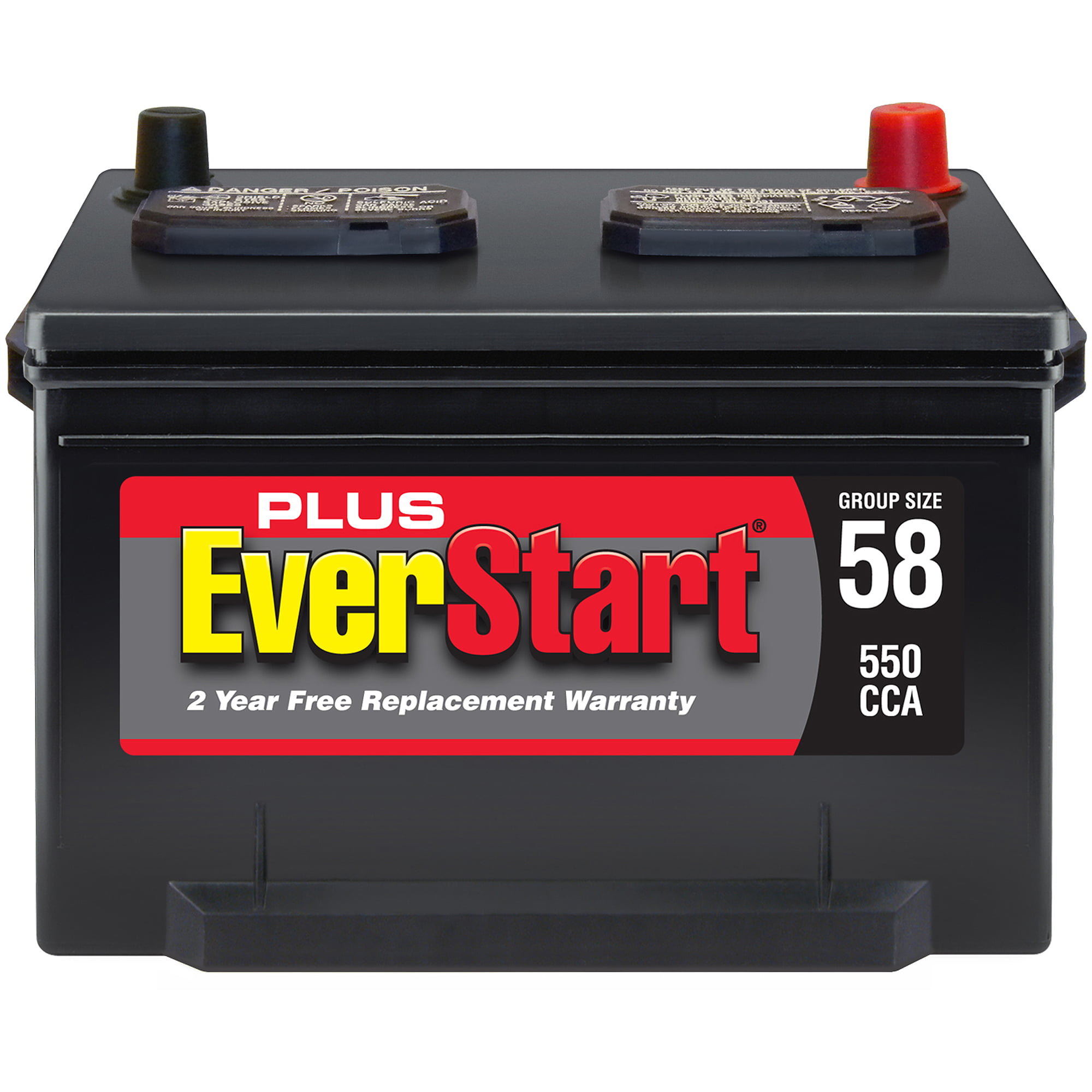 Ford 2000 Tractor Battery Size : Everstart battery group size chart list of common