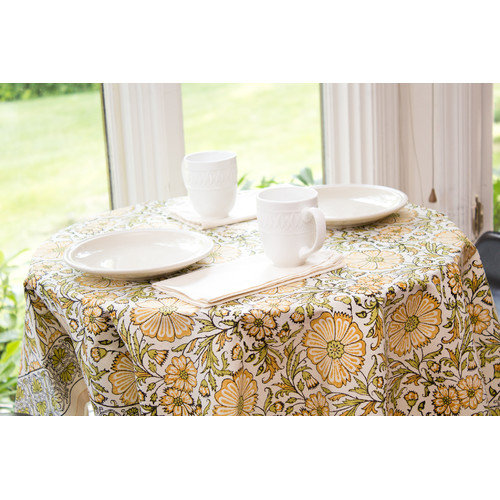 Sustainable Threads Bloom Tablecloth