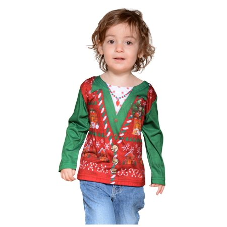 Toddler Ugly Christmas Vest](Ugly Halloween)