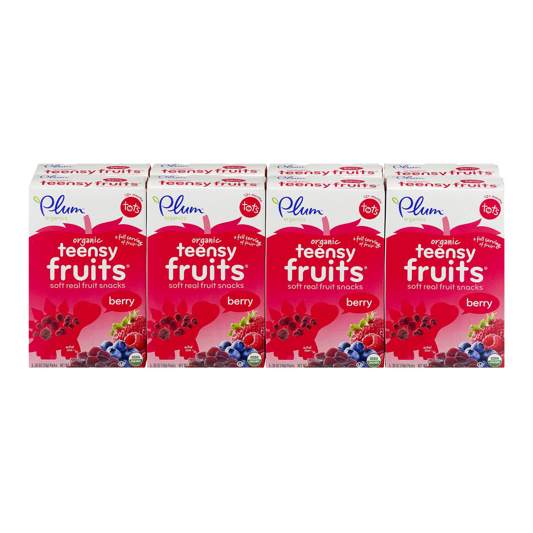 Plum Organics Teensy Fruits Berry Tots - 40 CT40.0 CT