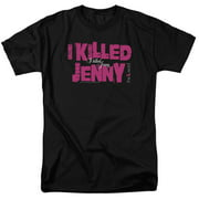 The L Word I Killed Jenny Mens Short Sleeve Shirt