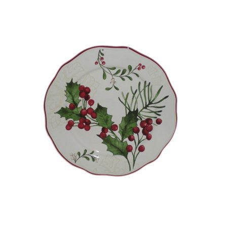 Better Homes And Gardens Holly Salad Plate