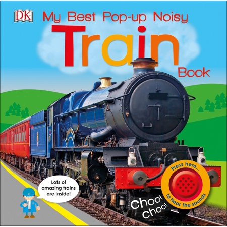 My Best Pop up Noisy Train Book (Board Book)
