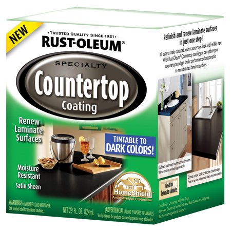 Rustoleum Countertop Paint On Formica : Rust Oleum 254853 Countertop Coating Kit-DP TINTBS COUNTERTOP KIT ...