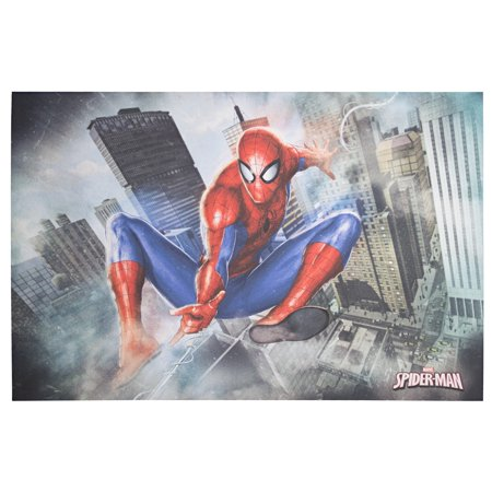 American Art Decor Licensed Marvel Comics Spider-Man Canvas Wall Art - multi-color