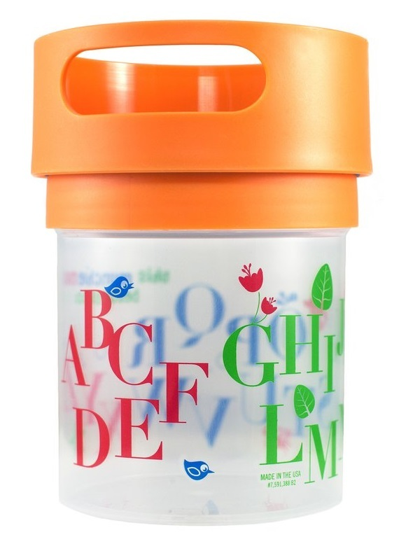 New Munchie Mugs Spill-Resistant 16oz Snack Cup ~ Choose Color by Munchie Mugs