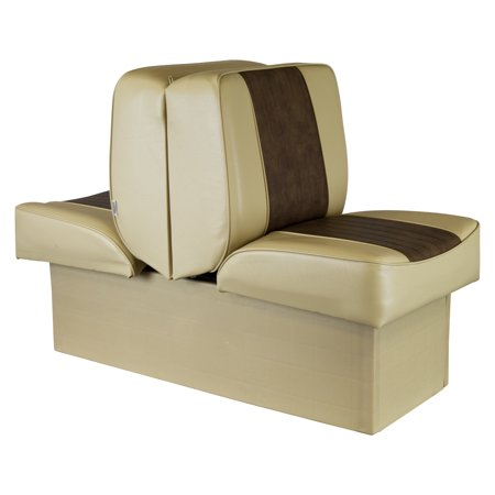 Marine Lounge Seats (Wise 8WD707P-1-662 Deluxe Series Lounge Seat, Sand-Brown)