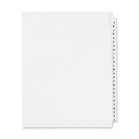 Avery Consumer Products AVE01400 Legal Divider W-Letter in.A-Zin.- Side Tab- 11in.x8-.50in. - image 1 of 1