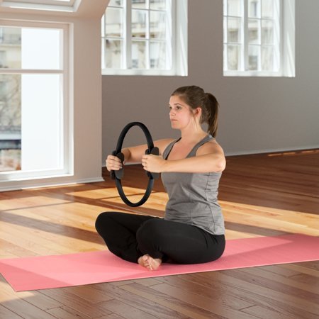 Wakeman Fitness Pilates Dual Grip Toning Ring - 15 inches