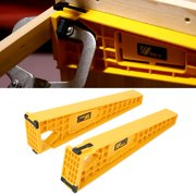 Tbest 2pcs Drawer Slide Jig for Cabinet Draw Slides Mounting Woodworking Carpentry Tool, Drawer Mounting Jig, Drawer Jig Tool