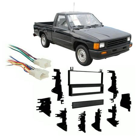 Fits Toyota Pickup/4 Runner 1987-1988 Single DIN Harness Radio Dash Kit