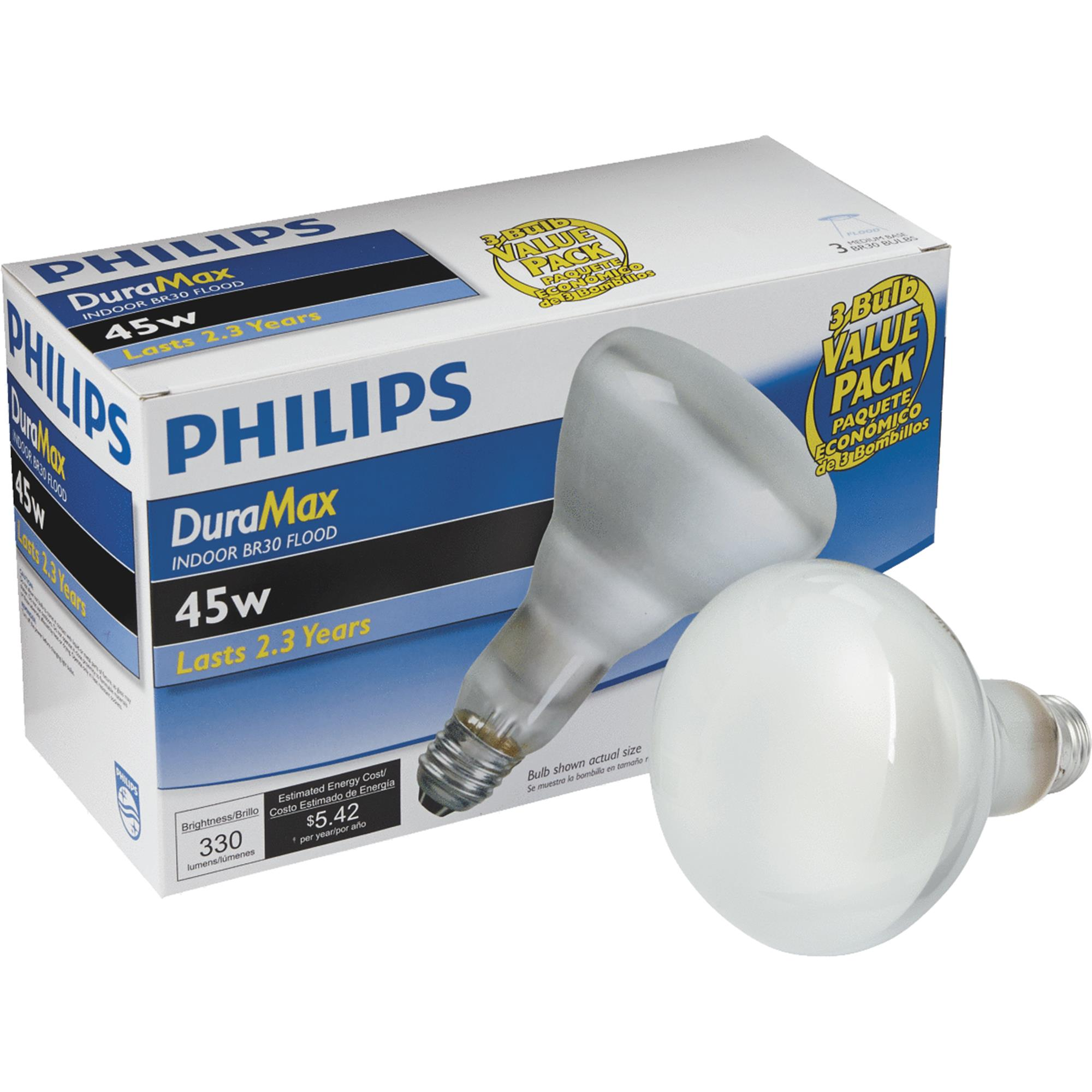 Philips DuraMax BR30 Incandescent Floodlight Light Bulb