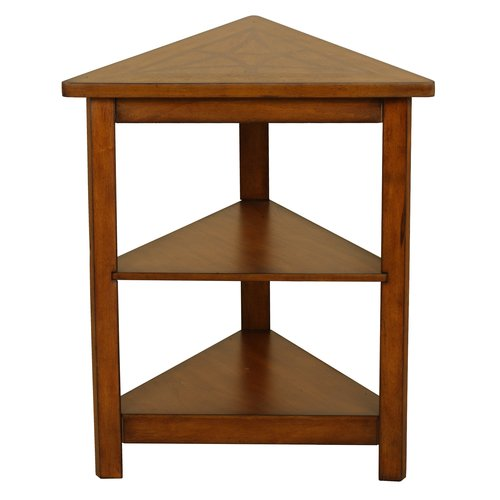 Red Barrel Studio Heartwood Triangle End Table