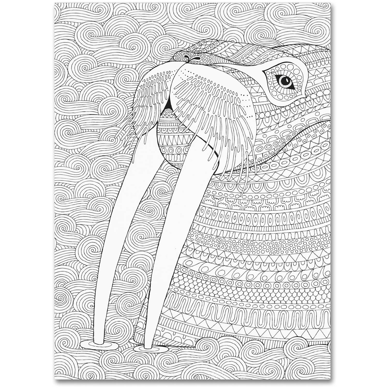 "Trademark Fine Art ""Animals 21"" Canvas Art by Hello Angel"