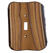 Sierra Lifestyles Rustic - 1 Toggle Finished Switchplate Cover