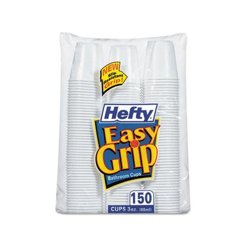 Easy Grip Disposable Plastic Bathroom Cups RFPC20315CT