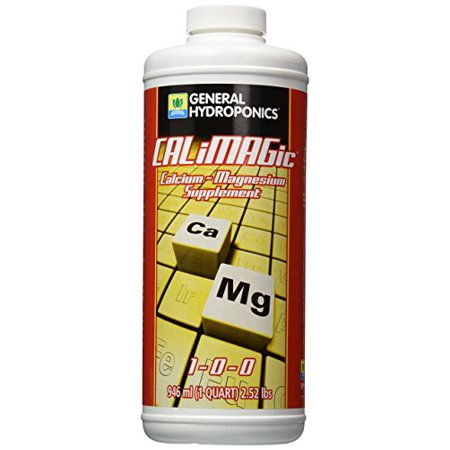 Gardening Supplement Calcium and Magnesium Assists Fast Growing Plants 1 Quart
