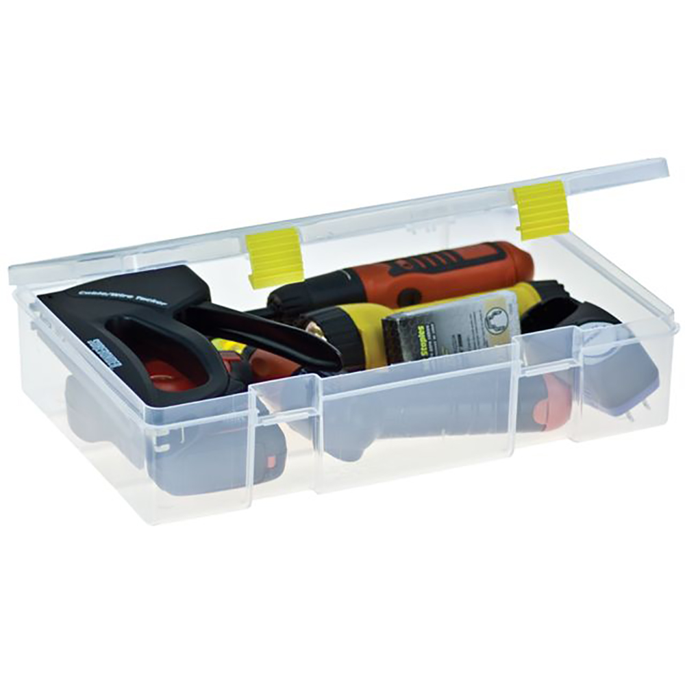 Plano Fishing, Pro-Latch StowAway, 1-Compartment Tackle Box by Plano
