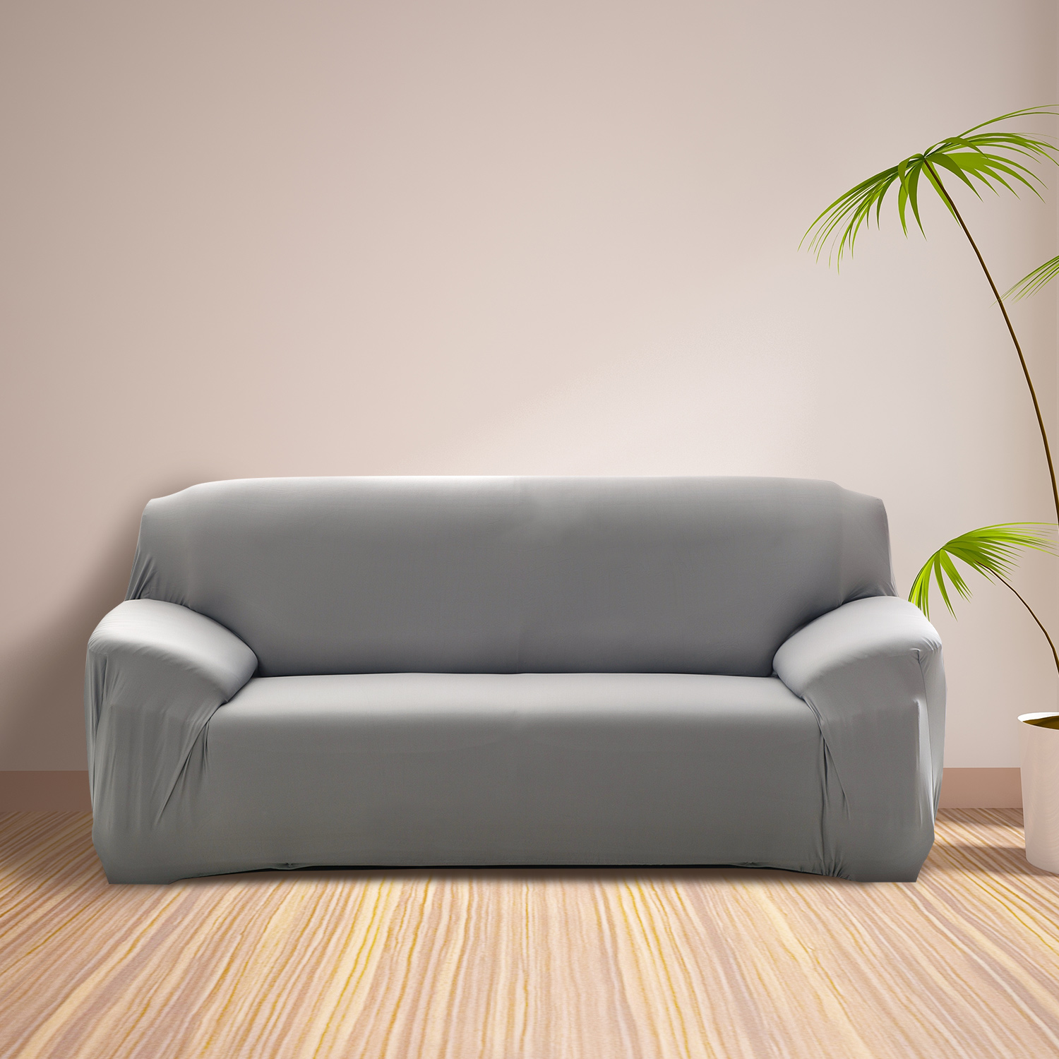 TKOOFN Stretch Four Seaters Elastic Sofa Cover Loveseat Couch Furniture Slipcover