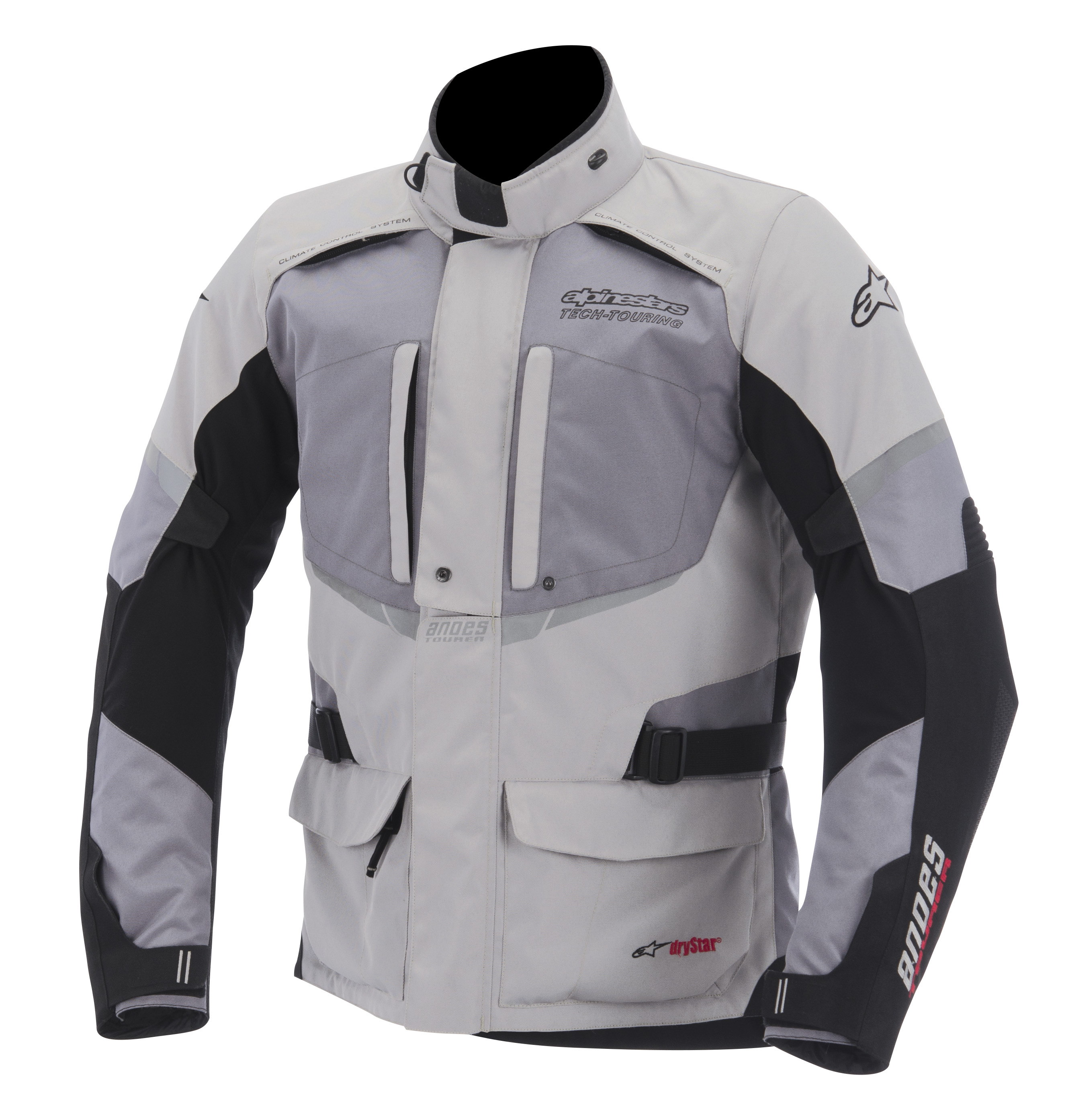 Alpinestars Andes Drystar Jacket Gray/Black 2XL