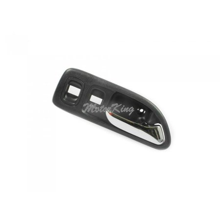 Motorking B567 Front Right Inside Door Handle Gray (Fits for 1994-1997 Honda Accord LX And EX 4 Door Models only)