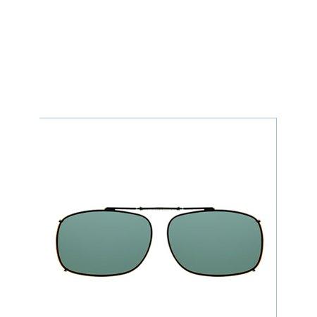 c26616406a Solar Shield - PolarAB ClipOn Rec 1 56 Sunglasses - Walmart.com