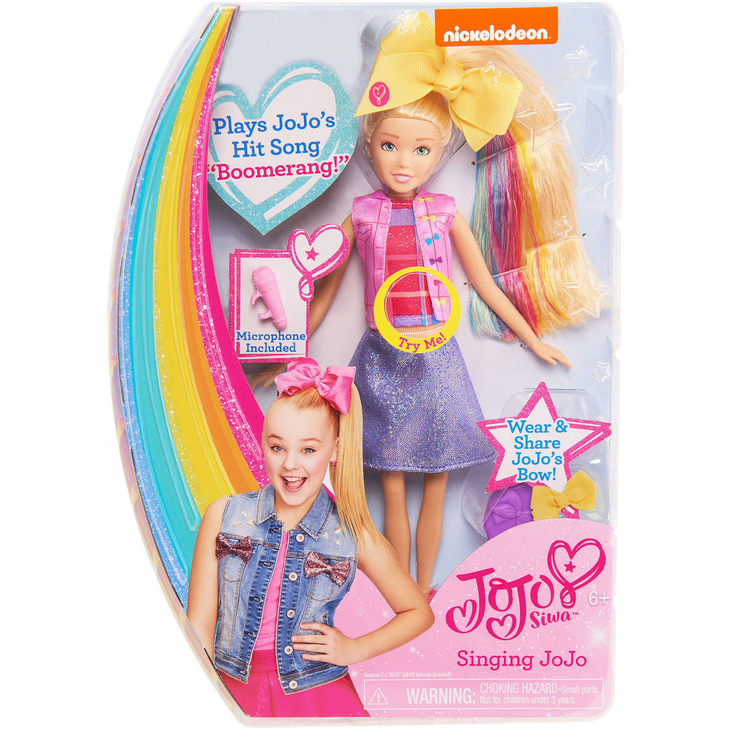 JoJo Siwa Singing Doll - Walmart.com